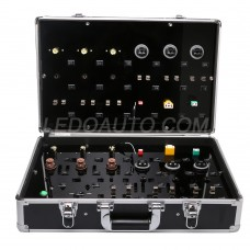 Automotive LED Bulbs Testing Suitcase And Exhibite Box Easy To Carry