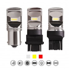 Chrome CSP Series High Power LED Turn Signal Light Bulbs