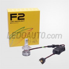 F2-H4 LED Headlights Bulbs for Cars