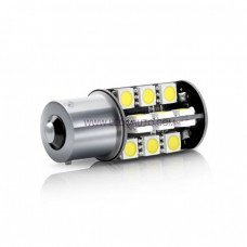 BA15D 1142 Automotive LED Bulbs - 5050 SMD 27LED CANBus