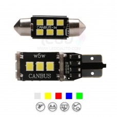 High Brightness 2835SMD Festoon And T10 LED Light for MG