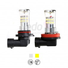 Turbo 3014SMD 3D Lighting LED Fog Light for Ford