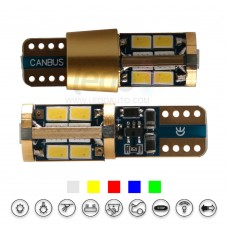 ENIG Tech 14K Gold Super CANBus LED T10 Light (Fit Acura ZDX)
