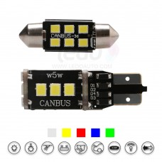 High Brightness  2835SMD T10 And Festoon LED Light (Fit CITROEN C4 Aircross)